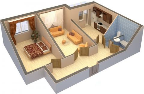 Квартиры с лучшими планировками в Днепре в базе АН Твоя Фортеця